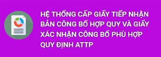 XAC NHAN CONG BO