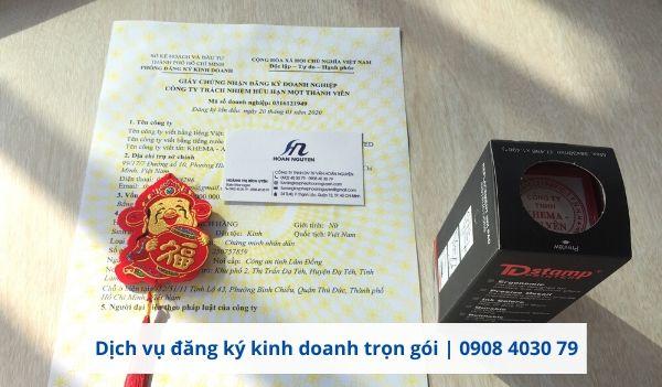 Dịch vụ làm giấy phép kinh doanh tại HOÀN NGUYÊN