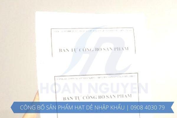 Dịch vụ công bố sản phẩm hạt dẻ nhập khẩu TOÀN QUỐC