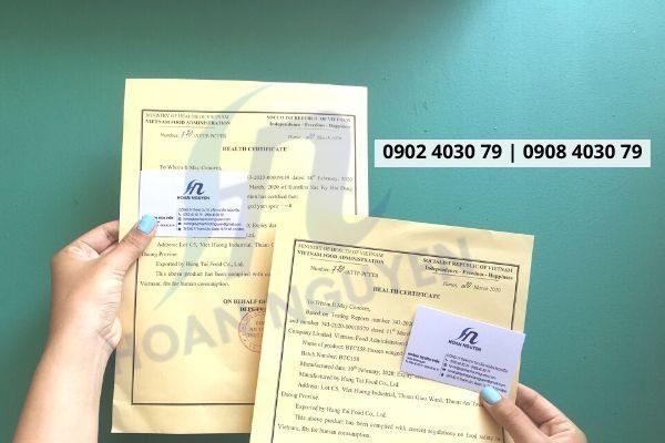 Hướng dẫn làm giấy chứng nhận y tế cho bún khô (Ảnh HOÀN NGUYÊN)