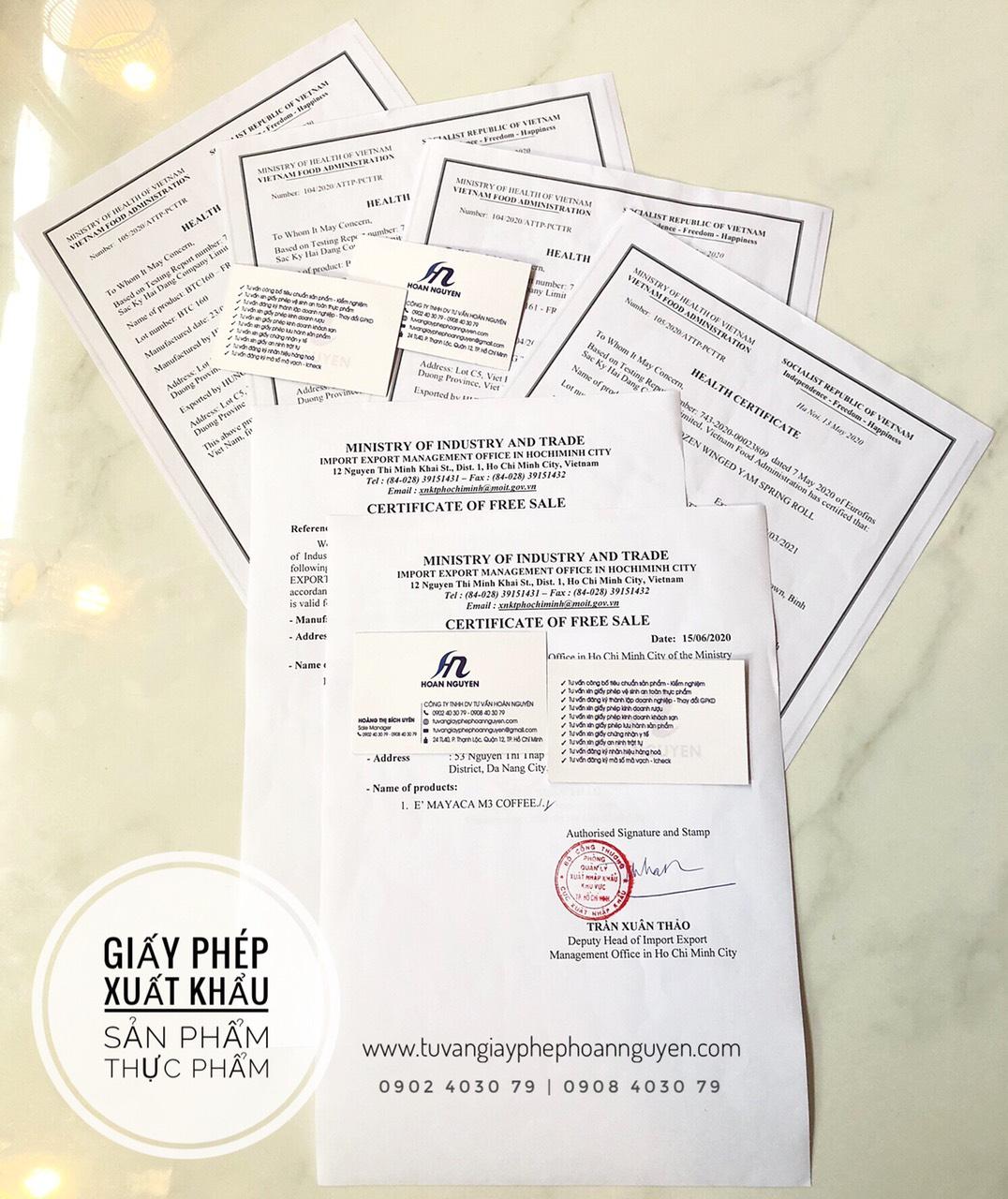 Tư vấn làm trọn gói giấy phép xuất khẩu sản phẩm (Ảnh HOÀN NGUYÊN)