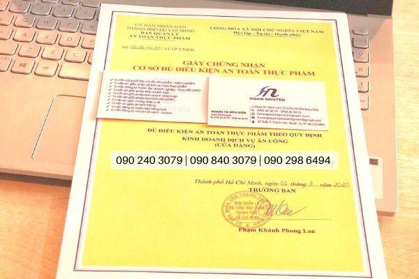 Dịch vụ làm giấy chứng nhận an toàn thực phẩm cho quán lẩu nướng