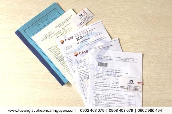 Dịch vụ làm hồ sơ pháp lý kinh doanh khẩu trang y tế (Ảnh HOÀN NGUYÊN)