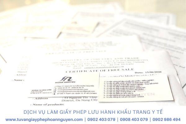 Đơn vị làm giấy chứng nhận lưu hành khẩu trang y tế nhanh nhất (Ảnh HOÀN NGUYÊN)