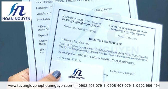 Dịch vụ làm trọn gói giấy chứng nhận y tế (HC) tại miền Bắc : ảnh HOÀN NGUYÊN