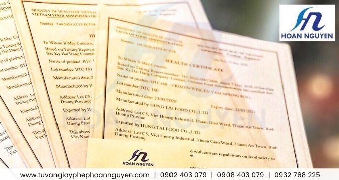 Thủ tục làm giấy chứng nhận y tế sản phẩm bánh giò : ảnh HOÀN NGUYÊN