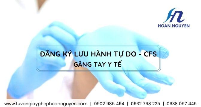 Hướng dẫn giấy phép lưu hành tự do cho găng tay y tế : ảnh HOÀN NGUYÊN