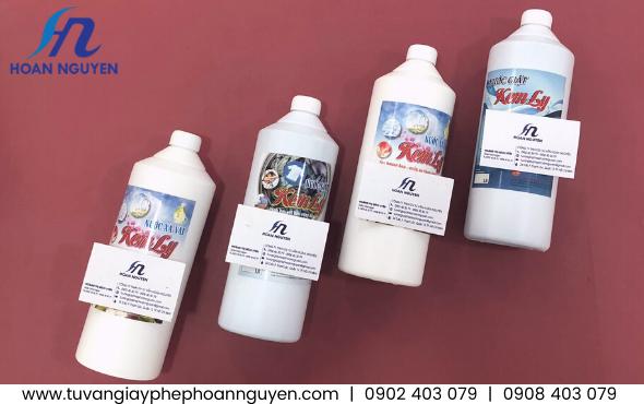 Sản phẩm nước giặt xả kiểm nghiệm chất lượng để công bố